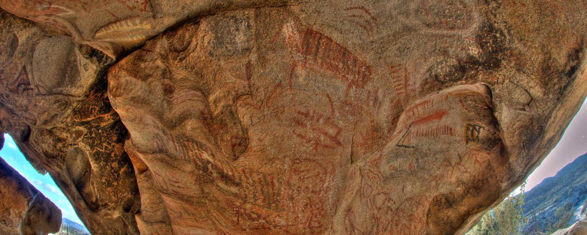pintura rupestre baja california