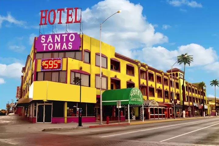 Hotel Santo Tomas en Ensenada