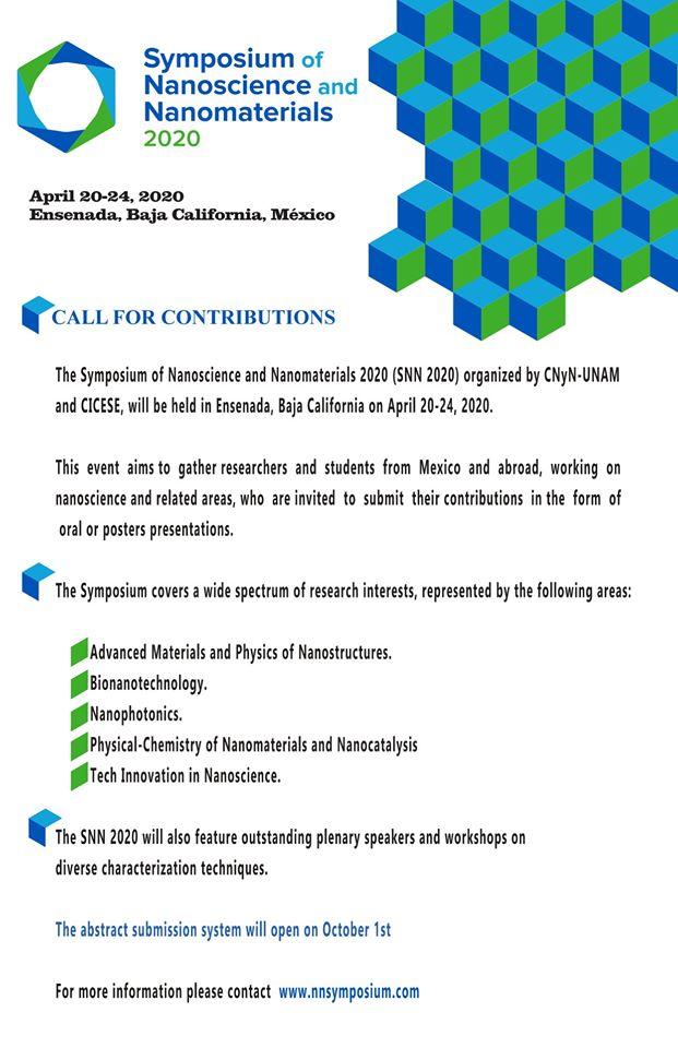 Symposium of Nanoscience and Nanomaterials