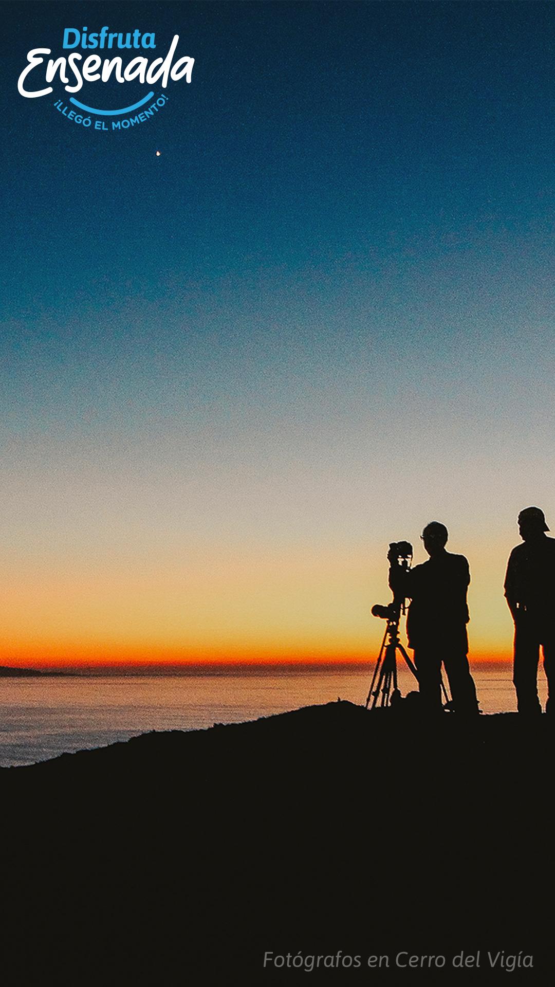 Fotógrafos en Cerro del Vigía