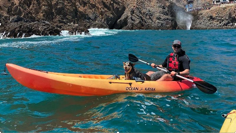 Kayaking en La Bufadora
